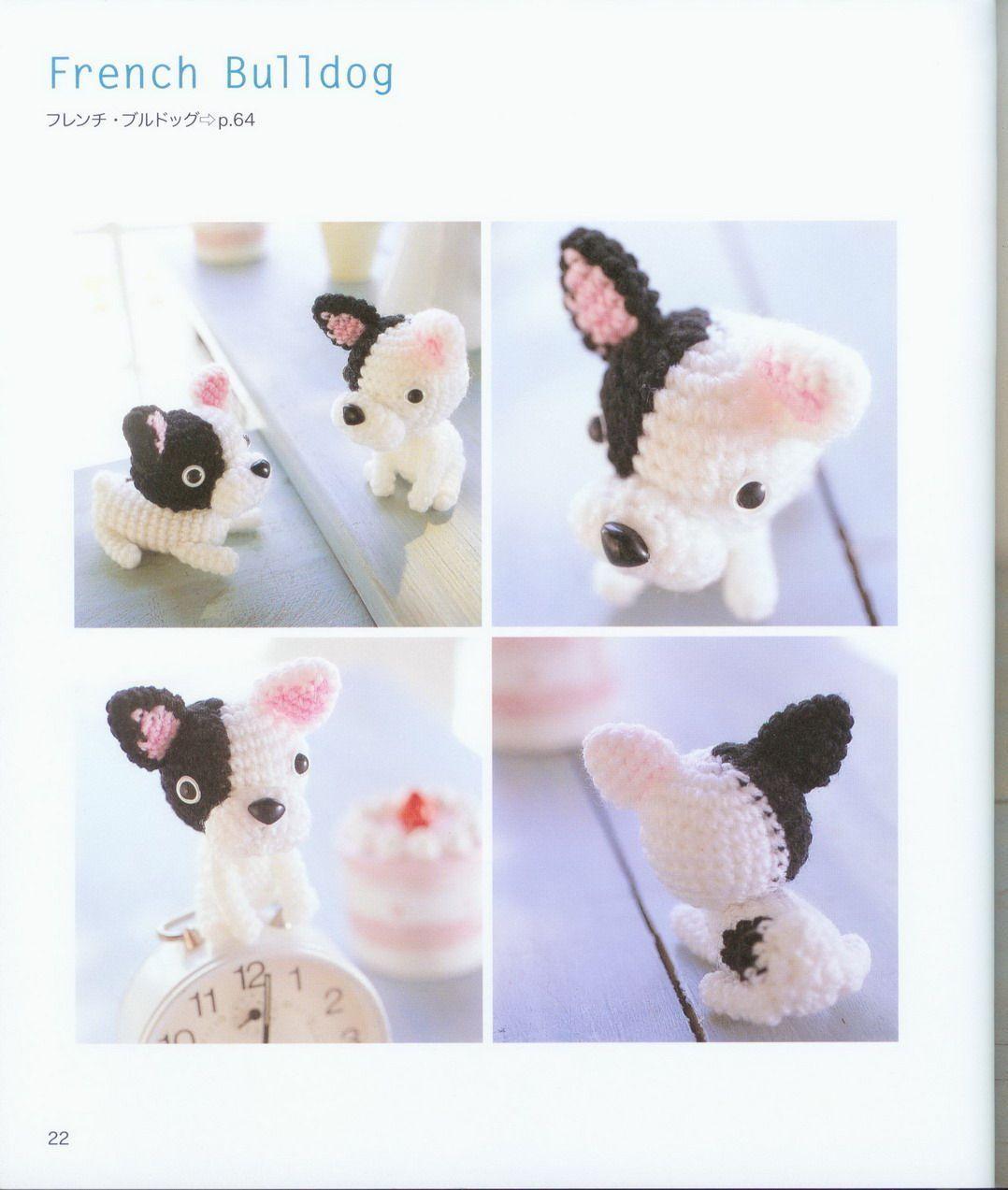 cane chihuahua amigurumi free pattern schemi gratis amigurumi ... | 1273x1078