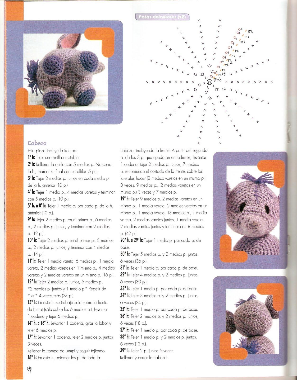 Elvie the Amigurumi Elephant - crochet PDF pattern by Airali design | 1600x1253
