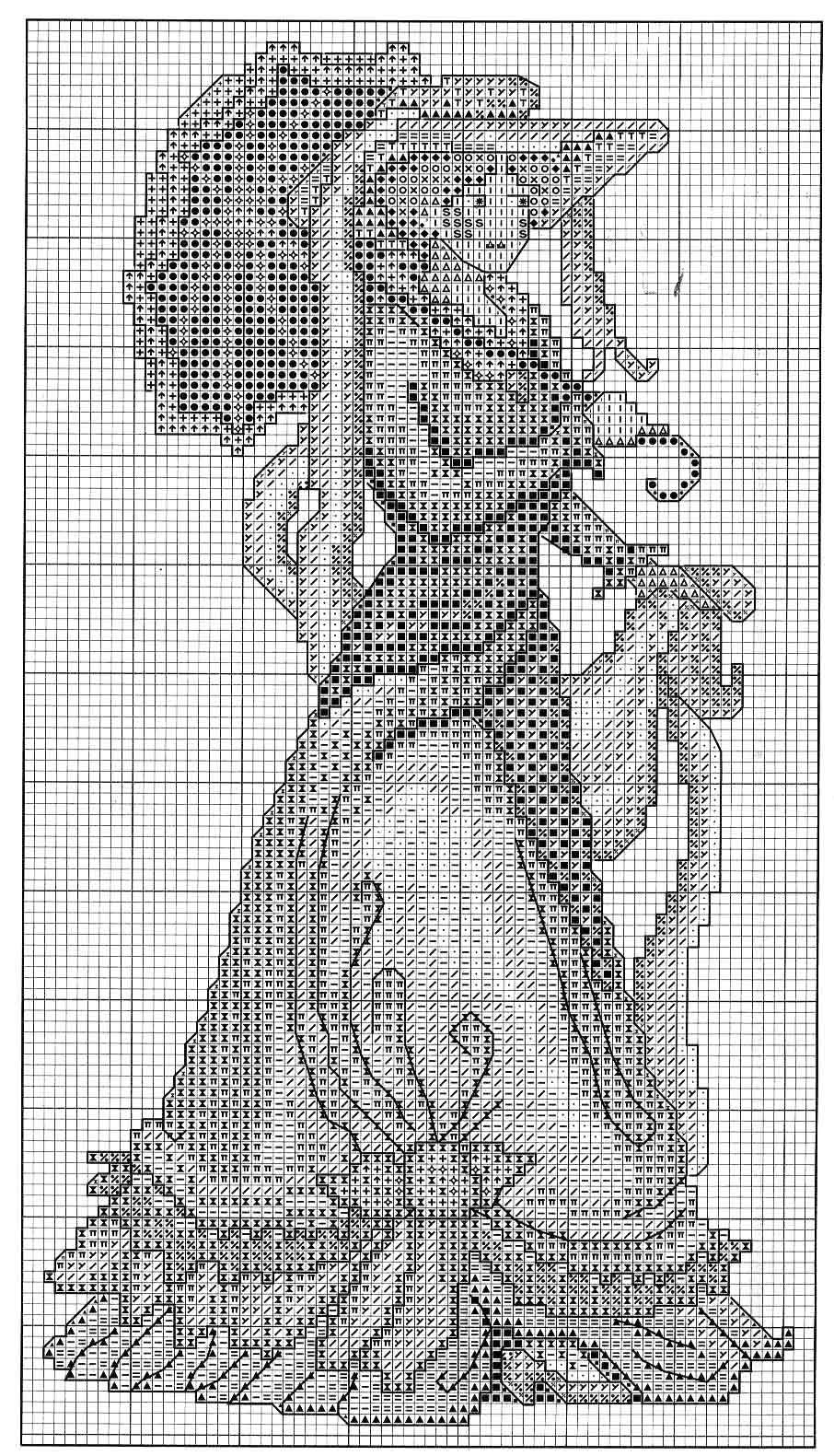 due quadri con dame a punto croce (2) - magiedifilo.it punto croce ... f165cd00798d