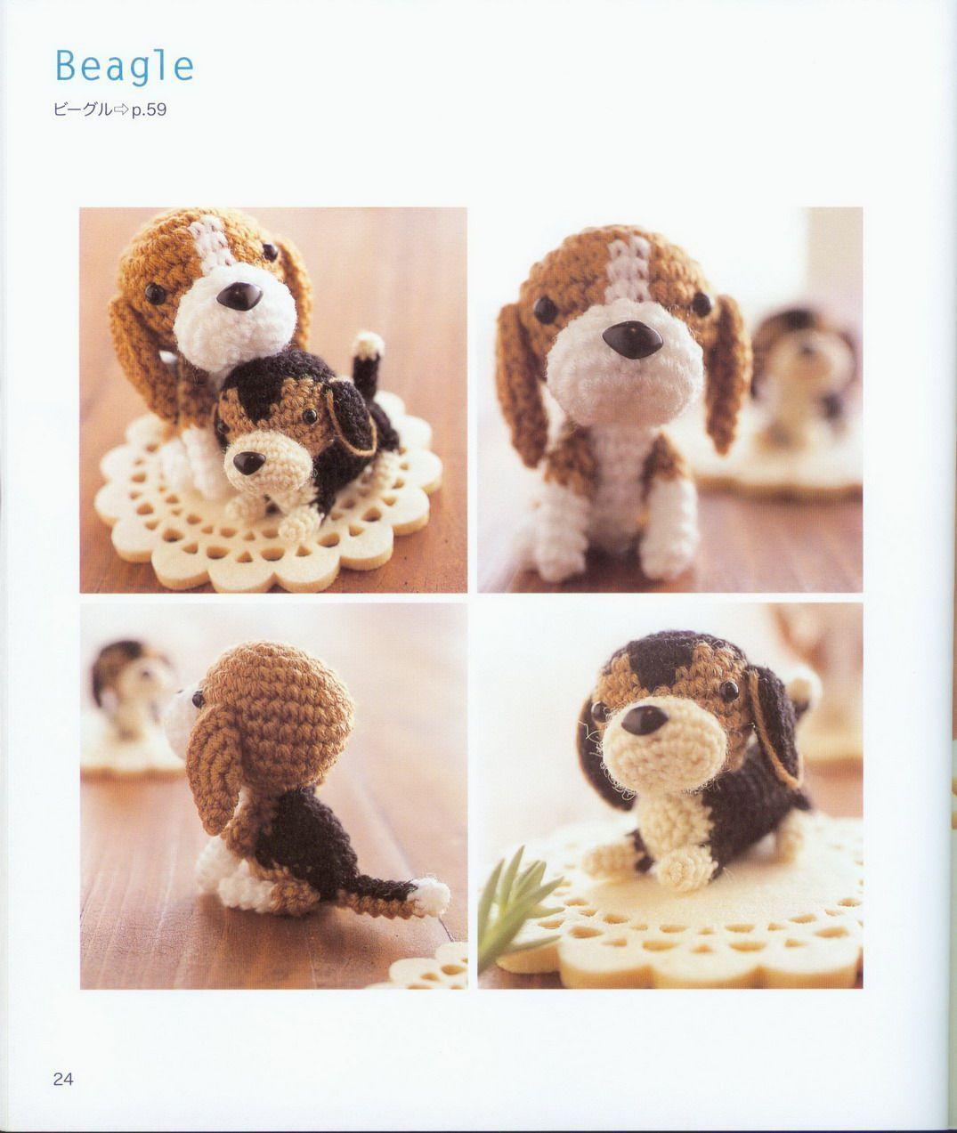 Amigurumi Tiger : cane beagle amigurumi 1 - magiedifilo.it punto croce ...