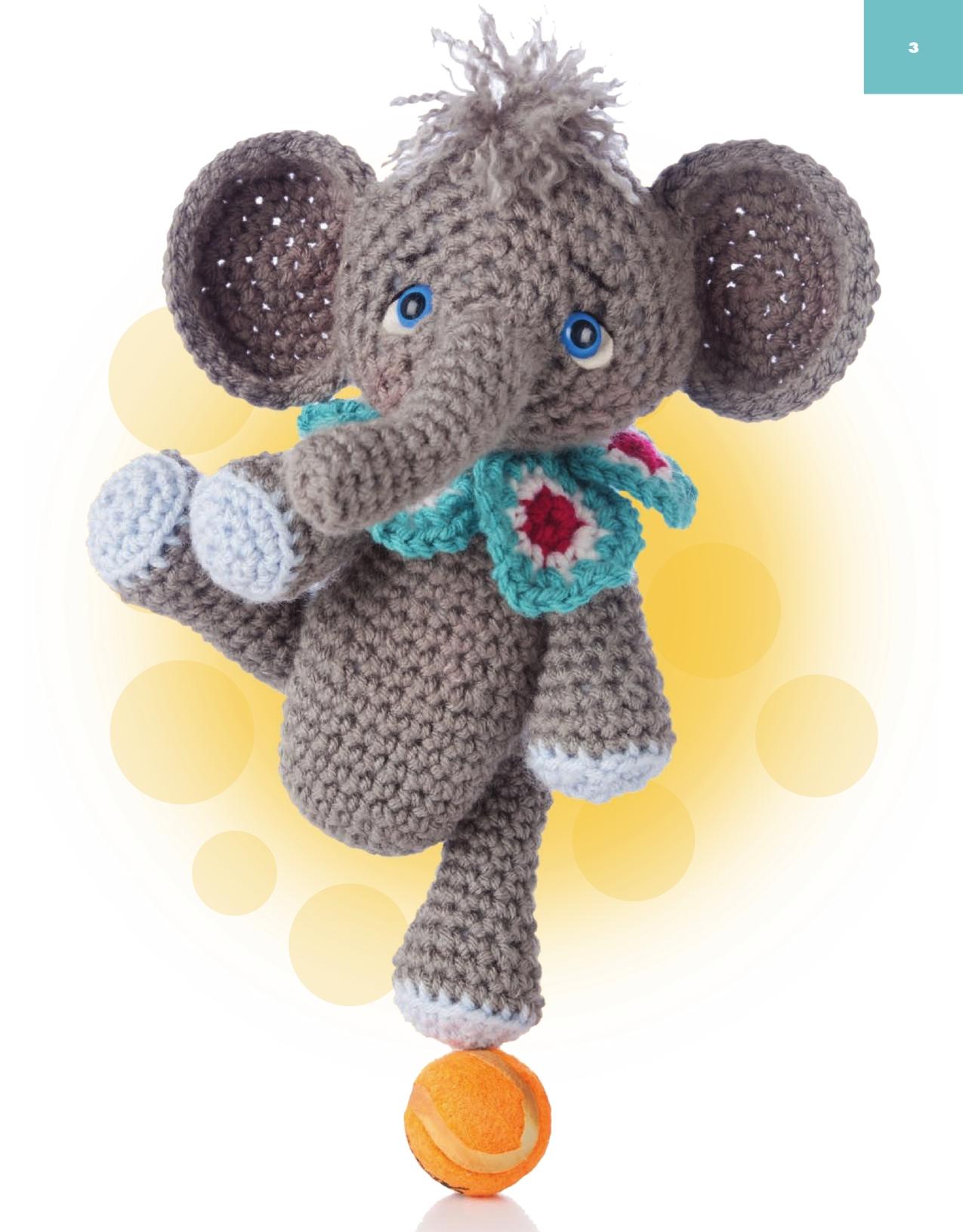 Uncinetto Amigurumi Elefante : Elefante acrobata amigurumi (2) - magiedifilo.it punto ...