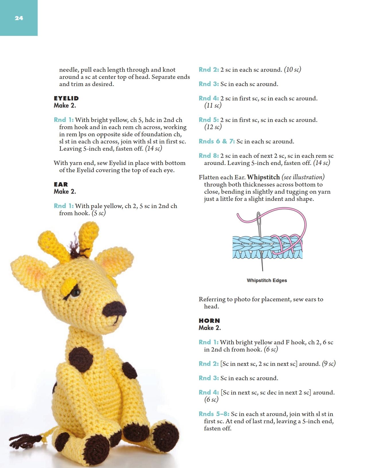 Giraffa dolce amigurumi (3) - magiedifilo.it punto croce ...