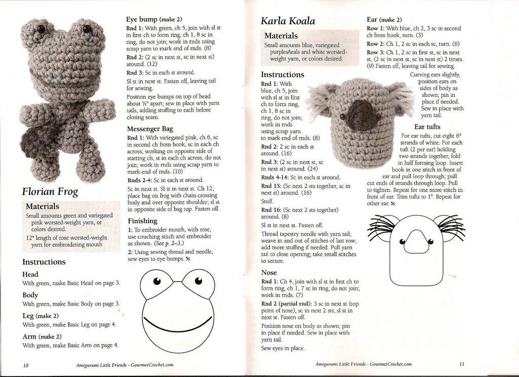 Karla Koala amigurumi - magiedifilo.it punto croce ...