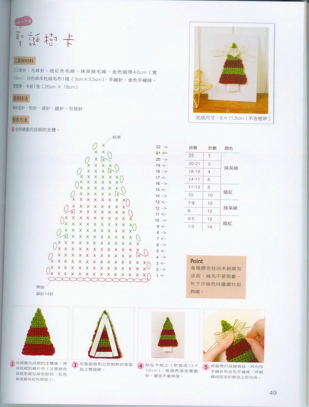 Amigurumi Halloween Schemi Gratis : ghirlanda albero di natale amigurumi 2 - magiedifilo.it ...