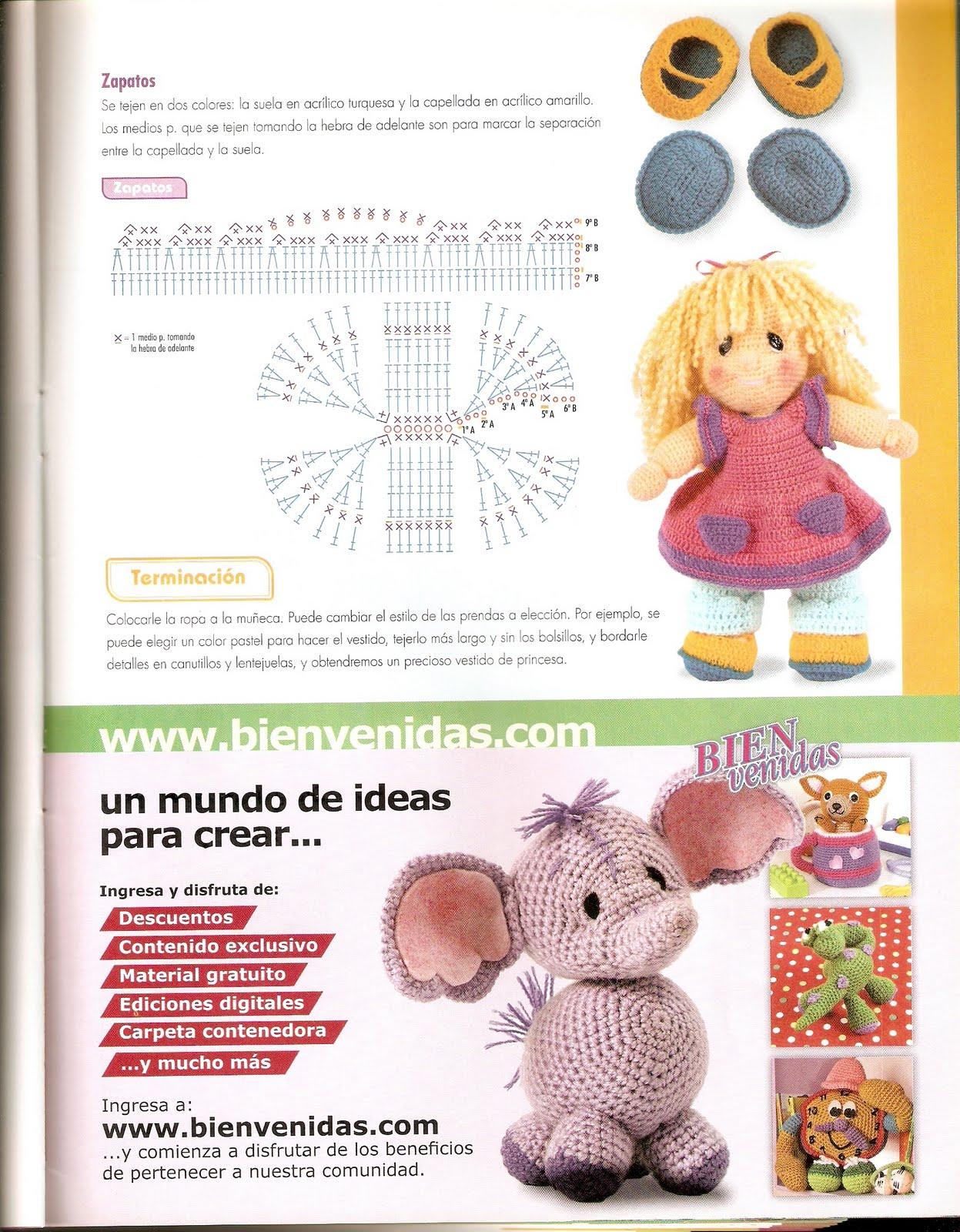 Amigurumi Halloween Schemi Gratis : bambola paffuta amigurumi 6 - magiedifilo.it punto croce ...
