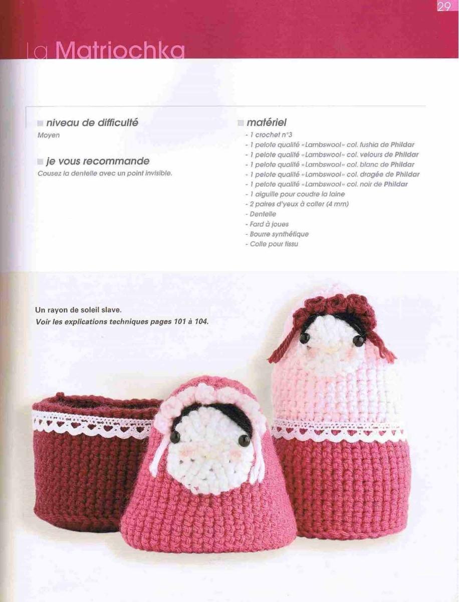 Matrioska em crochê amigurumi no Elo7 | Tesourinha Costura ... | 1200x916