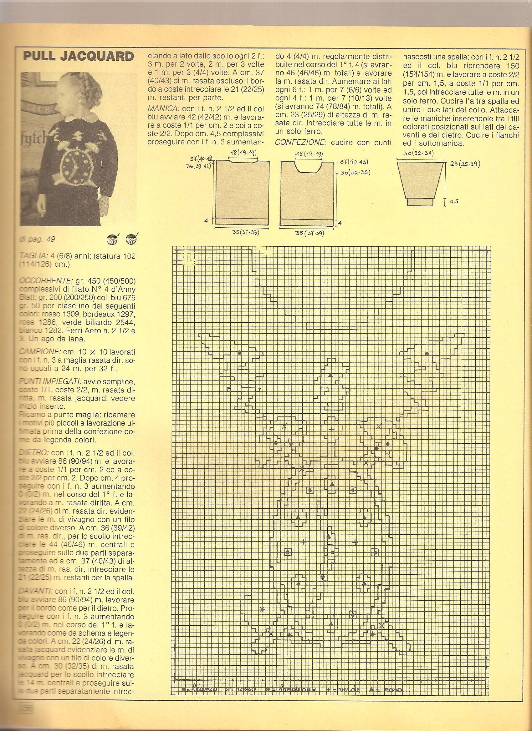 maglia bambini baby tirolo (13) - magiedifilo.it punto croce ... 813f635f9239