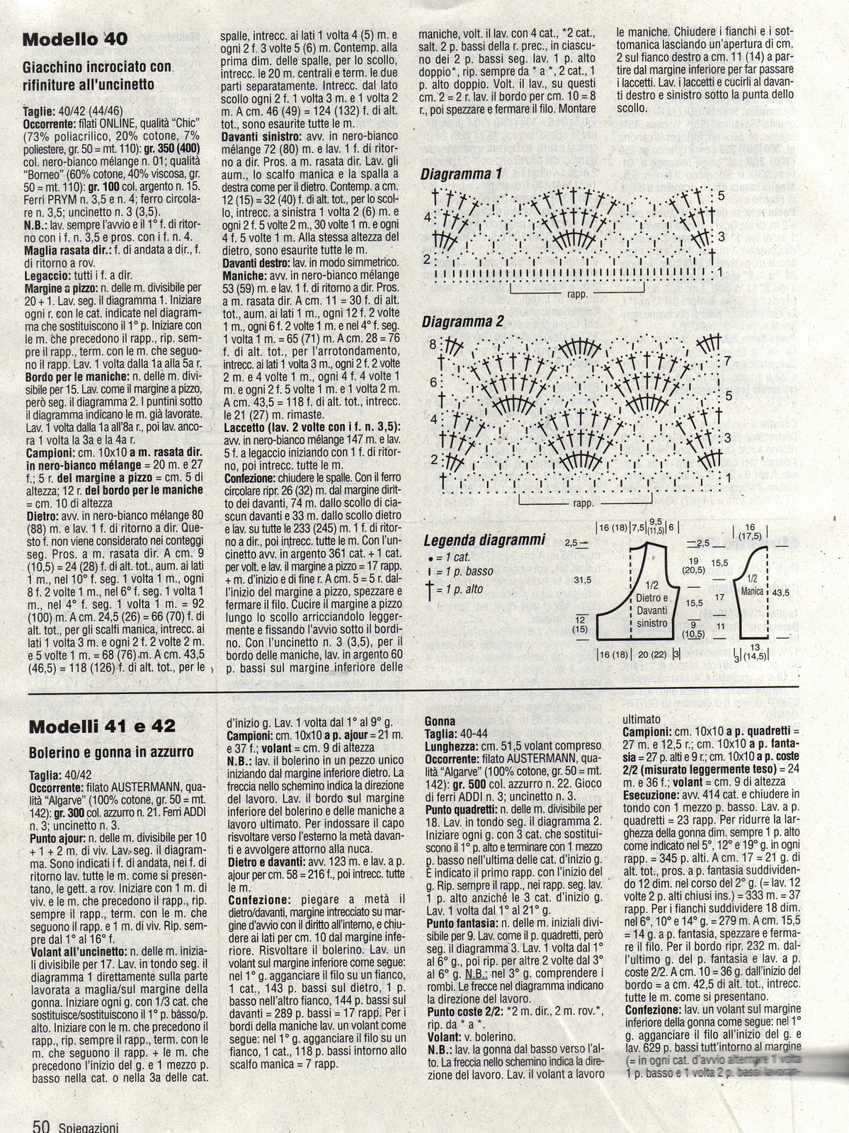 Giacchino Maglia Donna Con Rifiniture Alluncinetto 2