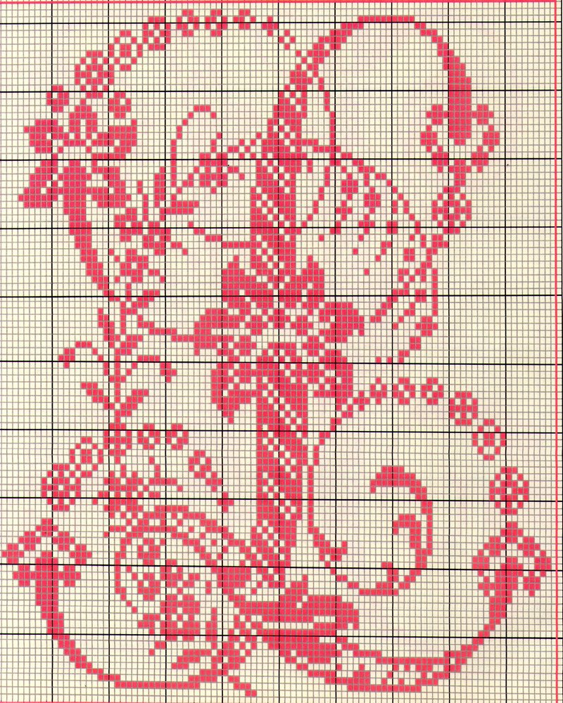 Alfabeto antico punto croce 11 punto for Schemi punto a croce alfabeto