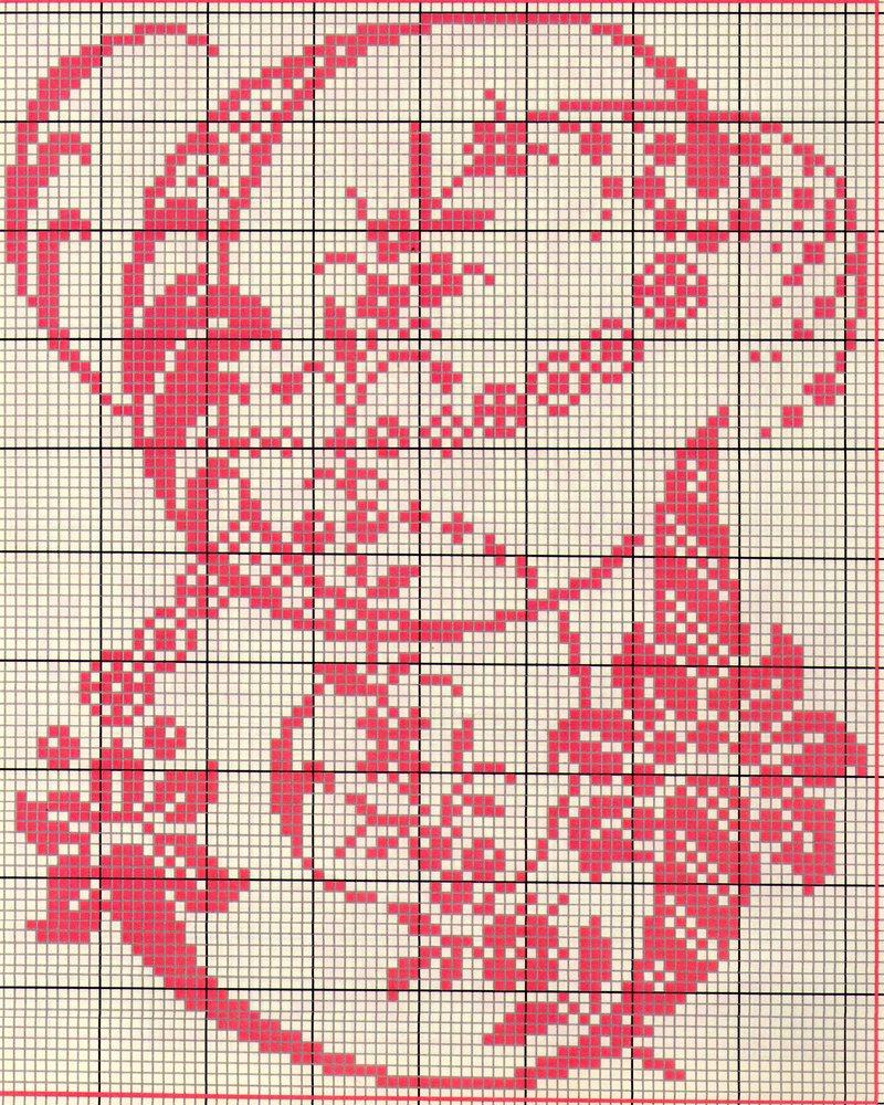 Alfabeto antico punto croce 7 punto for Alfabeto a punto croce schemi