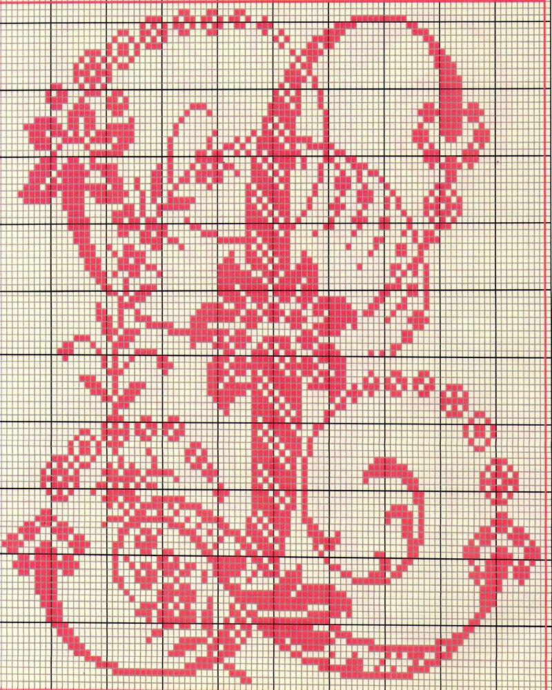 alfabeto antico punto croce 11 punto
