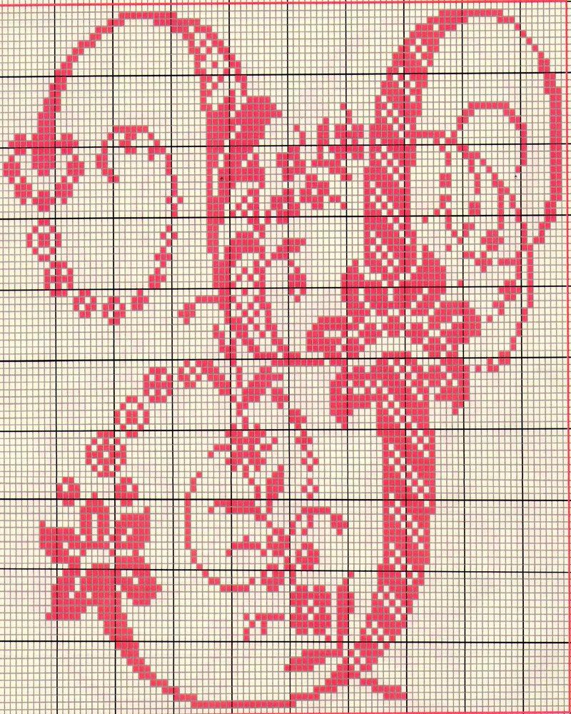 Alfabeto antico punto croce 23 punto for Punto croce schemi alfabeto