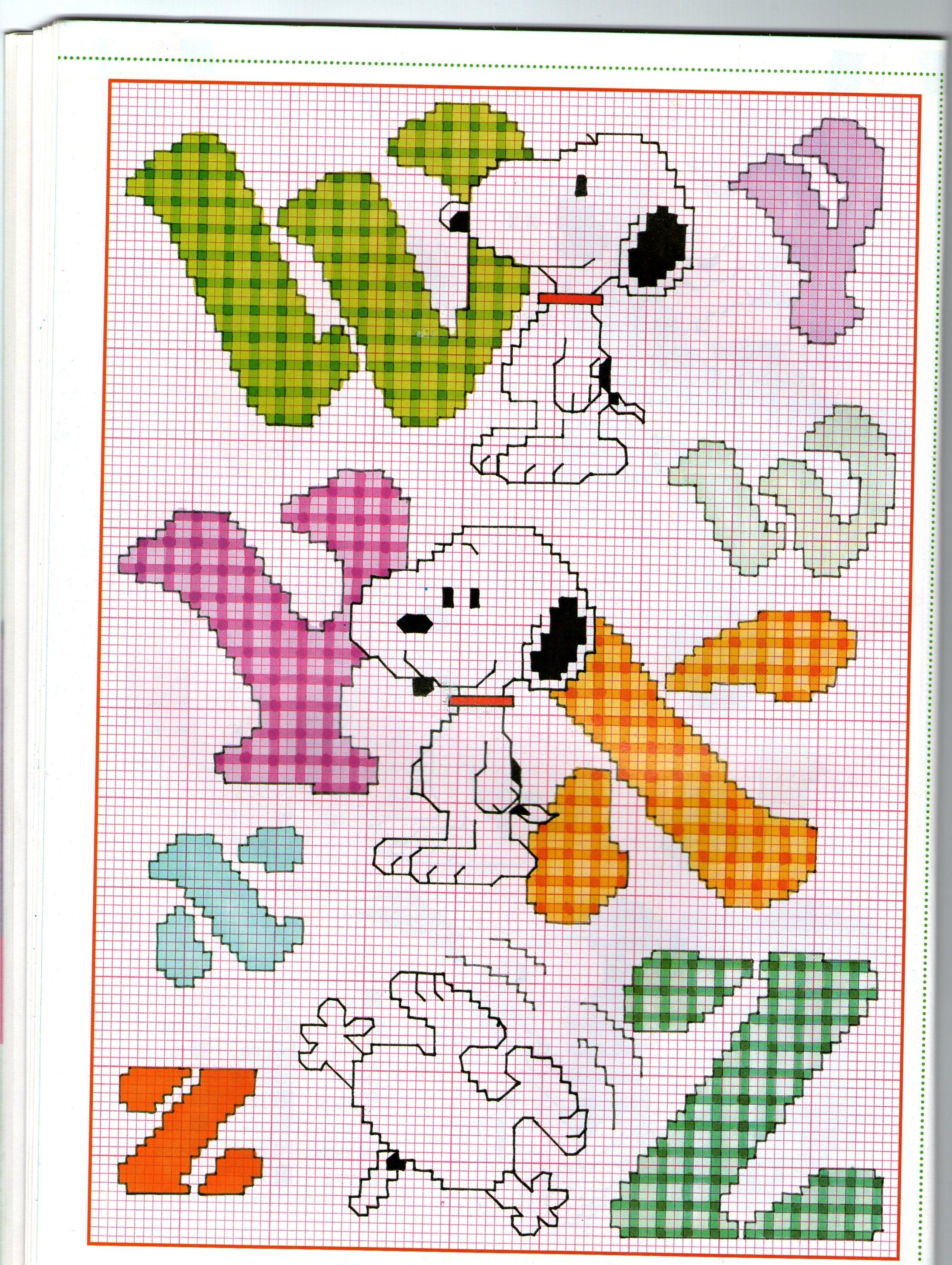 Snoopy all'Uncinetto Amigurumi - Schema Gratuito nel 2020 | 2973x2237