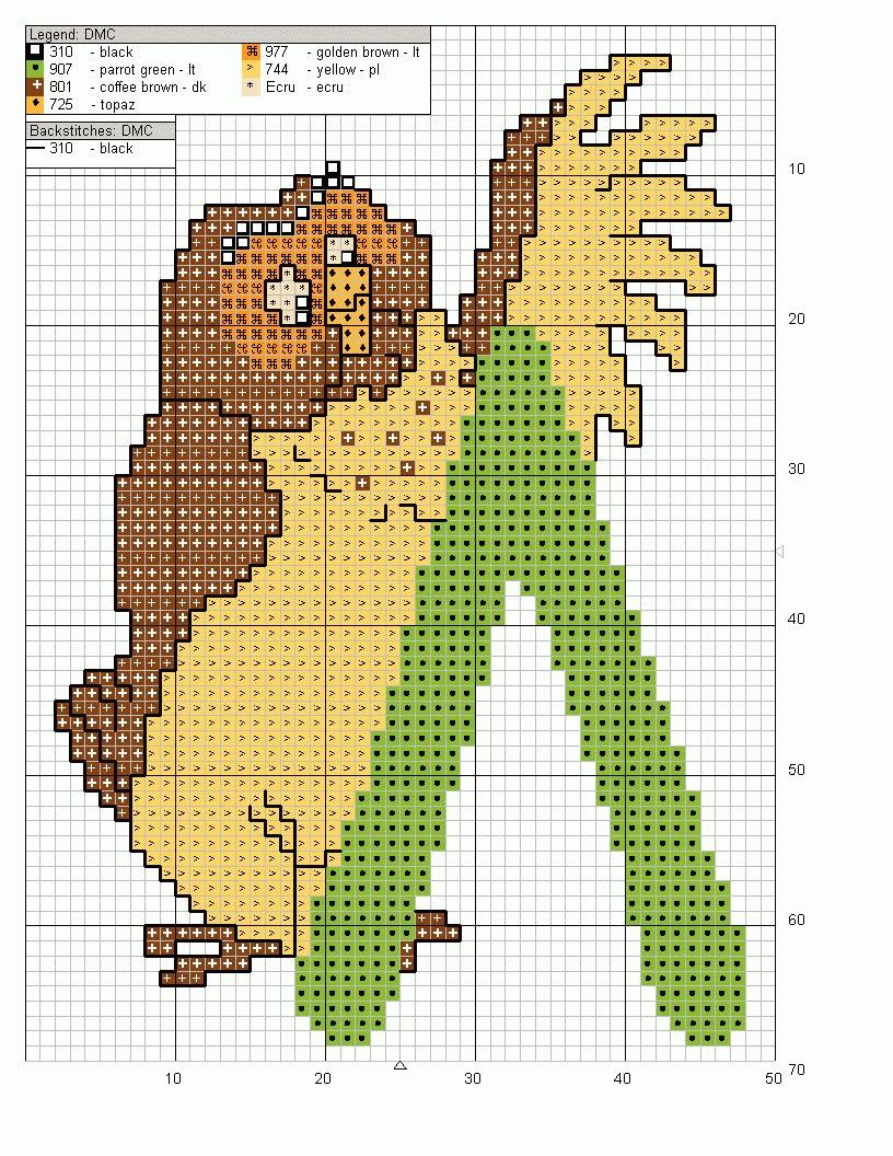 Alfabeto punto croce maiuscolo con winnie the pooh 15 for Winnie the pooh punto croce