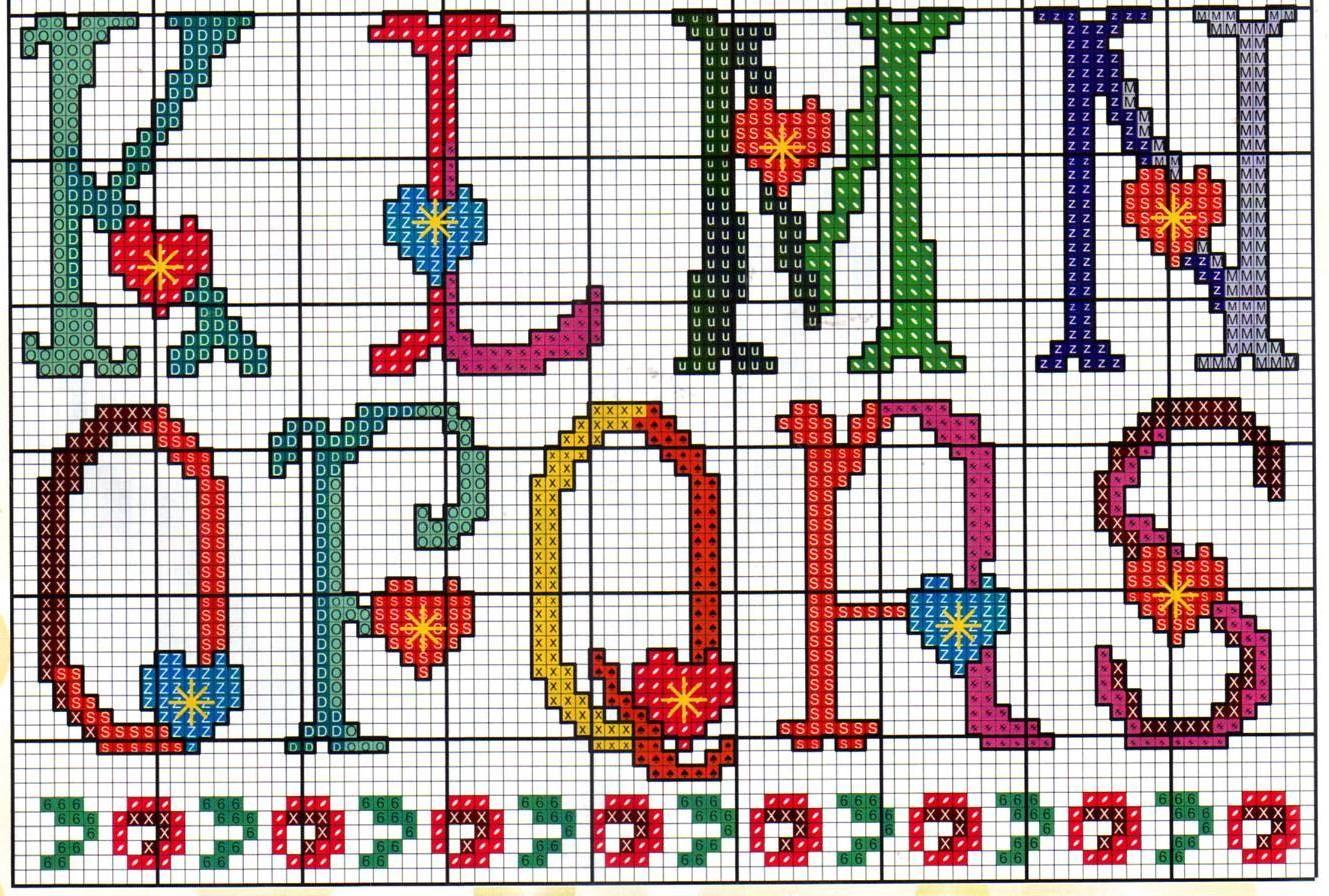 Alfabeto cuoricini1 punto croce uncinetto for Alfabeto a punto croce schemi