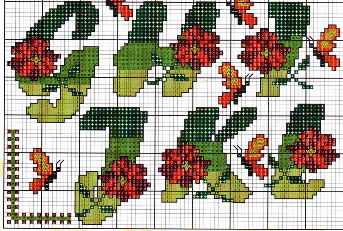 Alfabeto fiori farfalle16 punto croce for Schemi punto croce fiori e farfalle