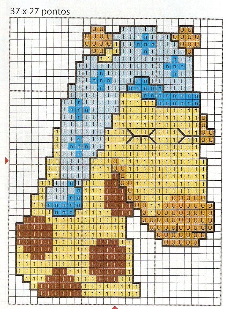 Animali giraffa che dorme punto croce for Giraffa punto croce
