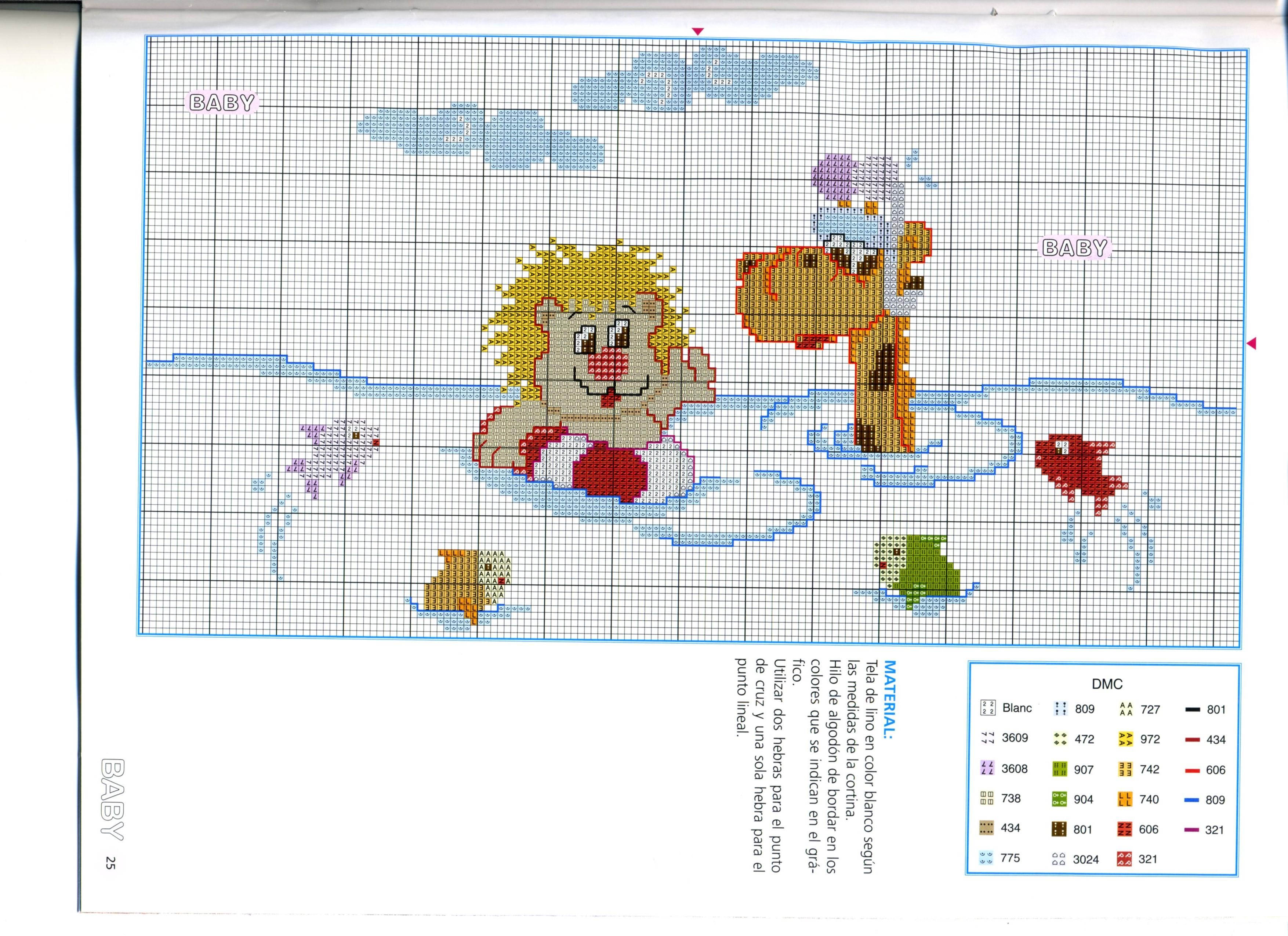 Animali nell 39 acqua 3 punto croce for Animali a punto croce per bambini