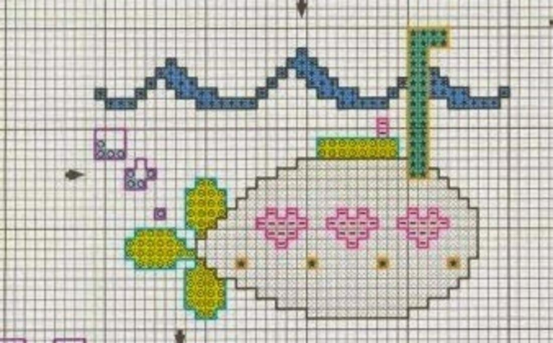 Schemi punto croce animali per bambini 4430 magiedifilo for Schemi punto croce animali per bambini