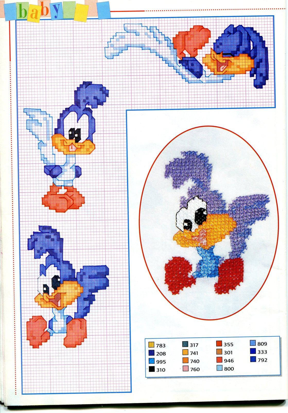 Детские схемы для вышивания крестом 25 штук, детские схемы для 33