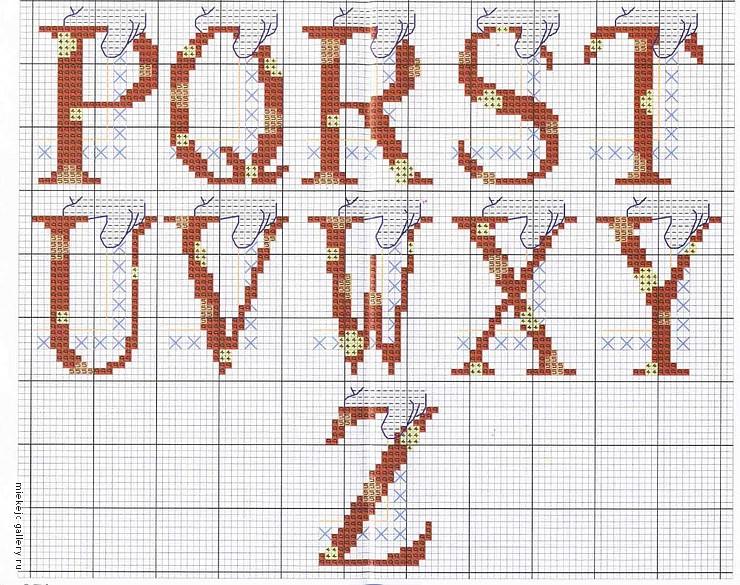 Alfabeto punto croce di topolino 3 for Schemi punto croce alfabeto bambini