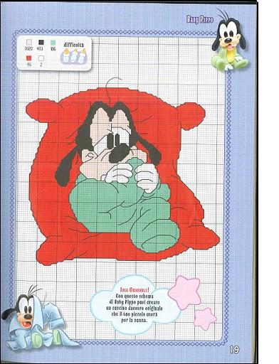 Disney baby bellissimi schemi punto croce 1 for Schemi punto croce bambini disney