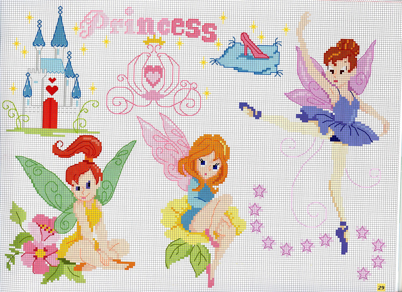 Fate farfalle ballerina ali punto croce for Farfalle a punto croce per bambini