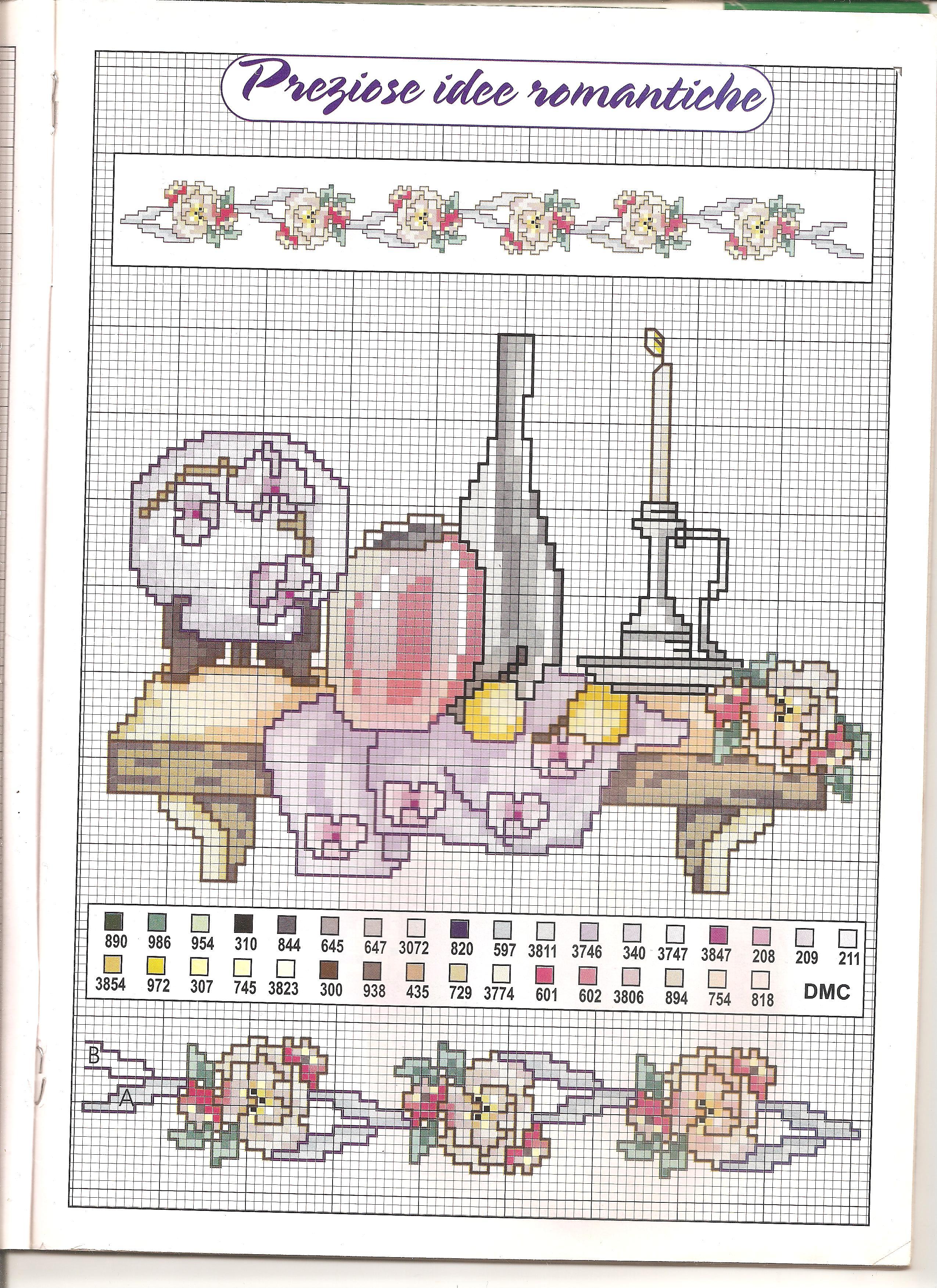 Cucina mensolina punto croce uncinetto schemi gratis hobby creativi - Disegni per cucina ...