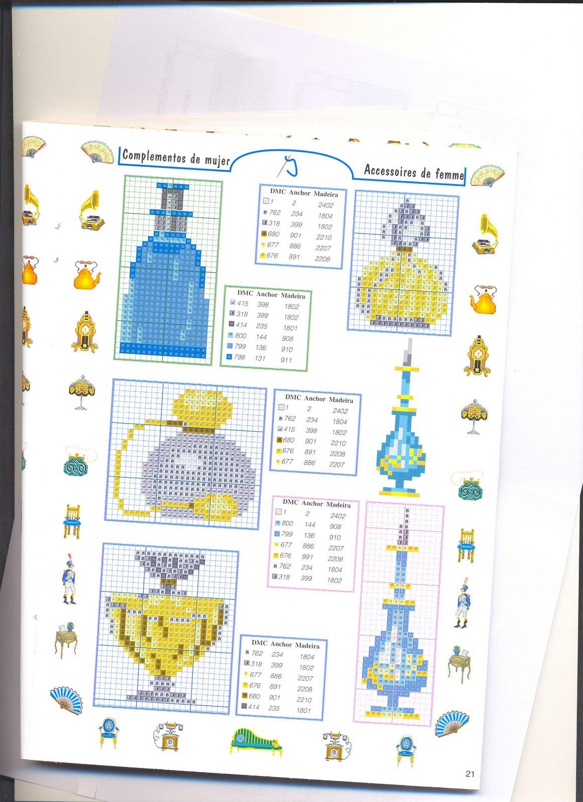 piccoli accessori bagno punto croce (6) - magiedifilo.it ...