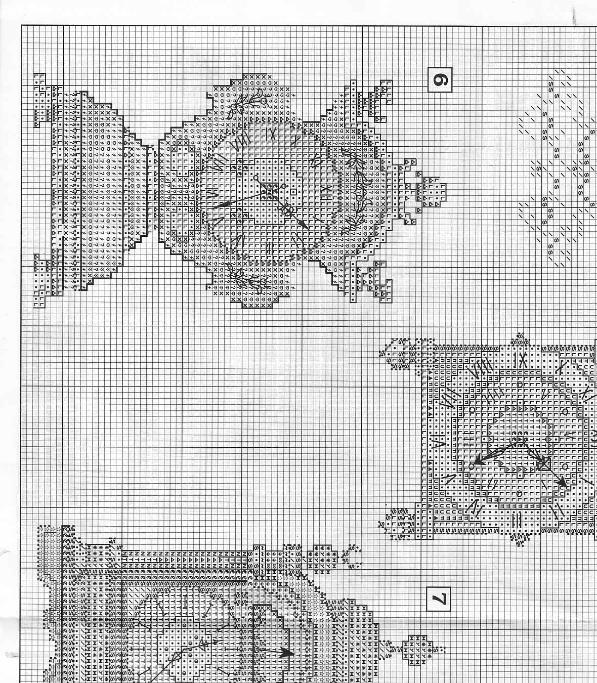 Orologi antichi da ricamare a punto croce 2 for Orologio punto croce schemi gratis