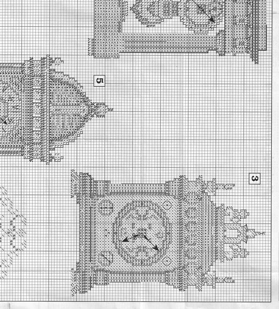 Orologi antichi da ricamare a punto croce 5 for Orologio punto croce schemi gratis
