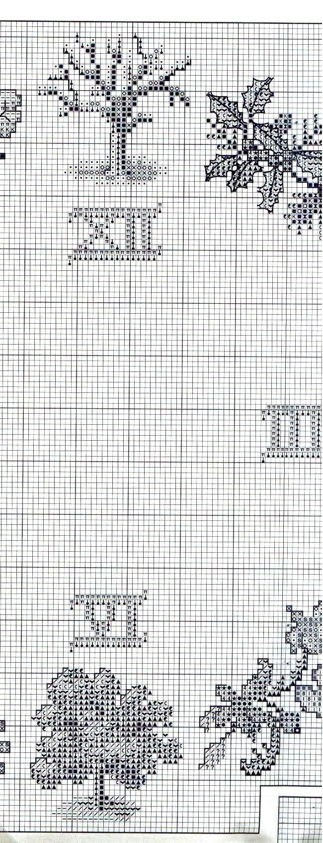 Orologio 4 stagioni 3 punto croce for Orologio punto croce schemi gratis