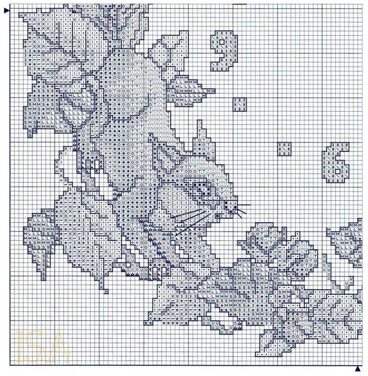 Orologio scoiattoli 4 punto croce for Orologio punto croce schemi gratis
