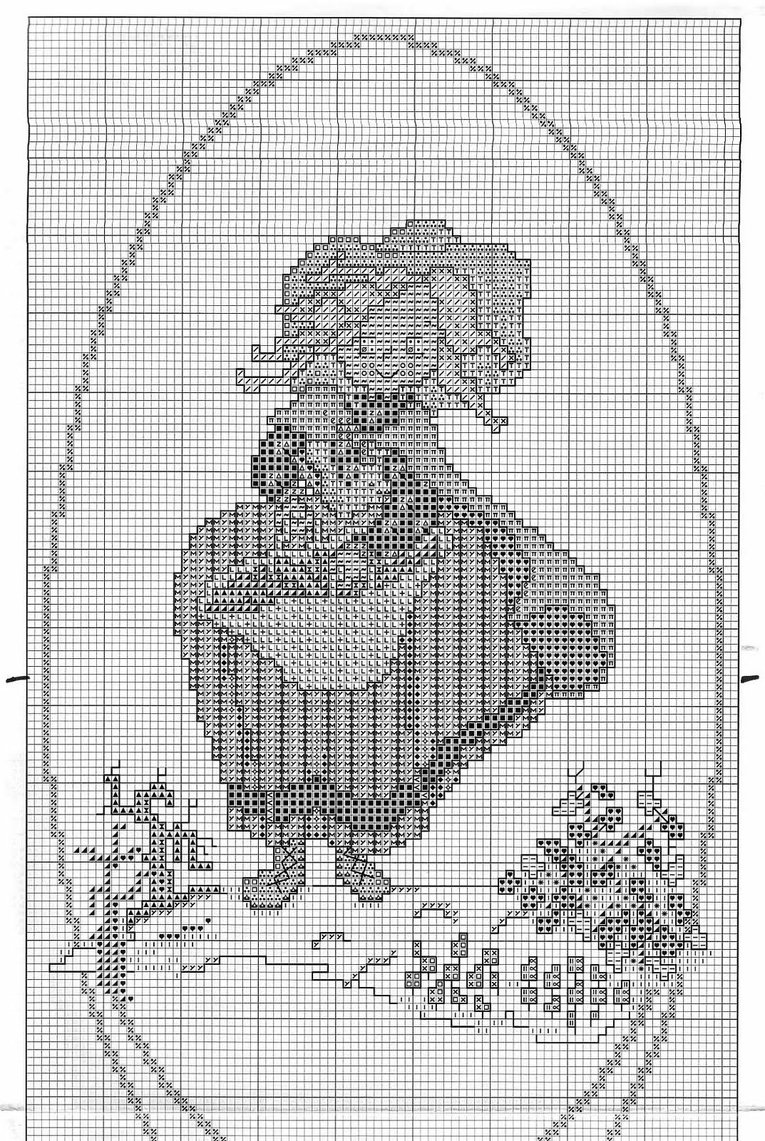 Quadretti punto croce con dame delle quattro stagioni (2 ... c2680da00eda
