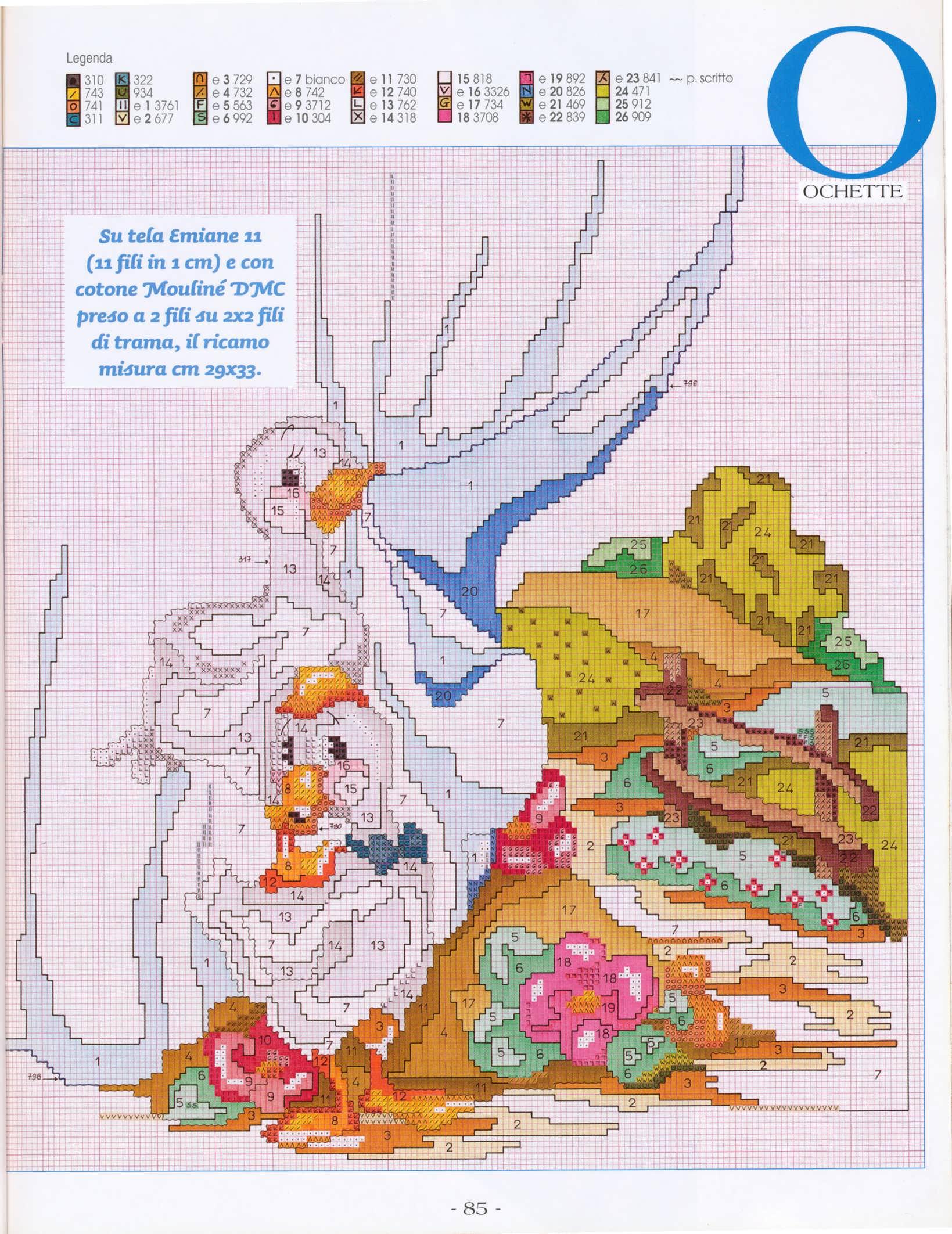 tenda oche paesaggio (2) - magiedifilo.it punto croce uncinetto schemi gratis hobby creativi