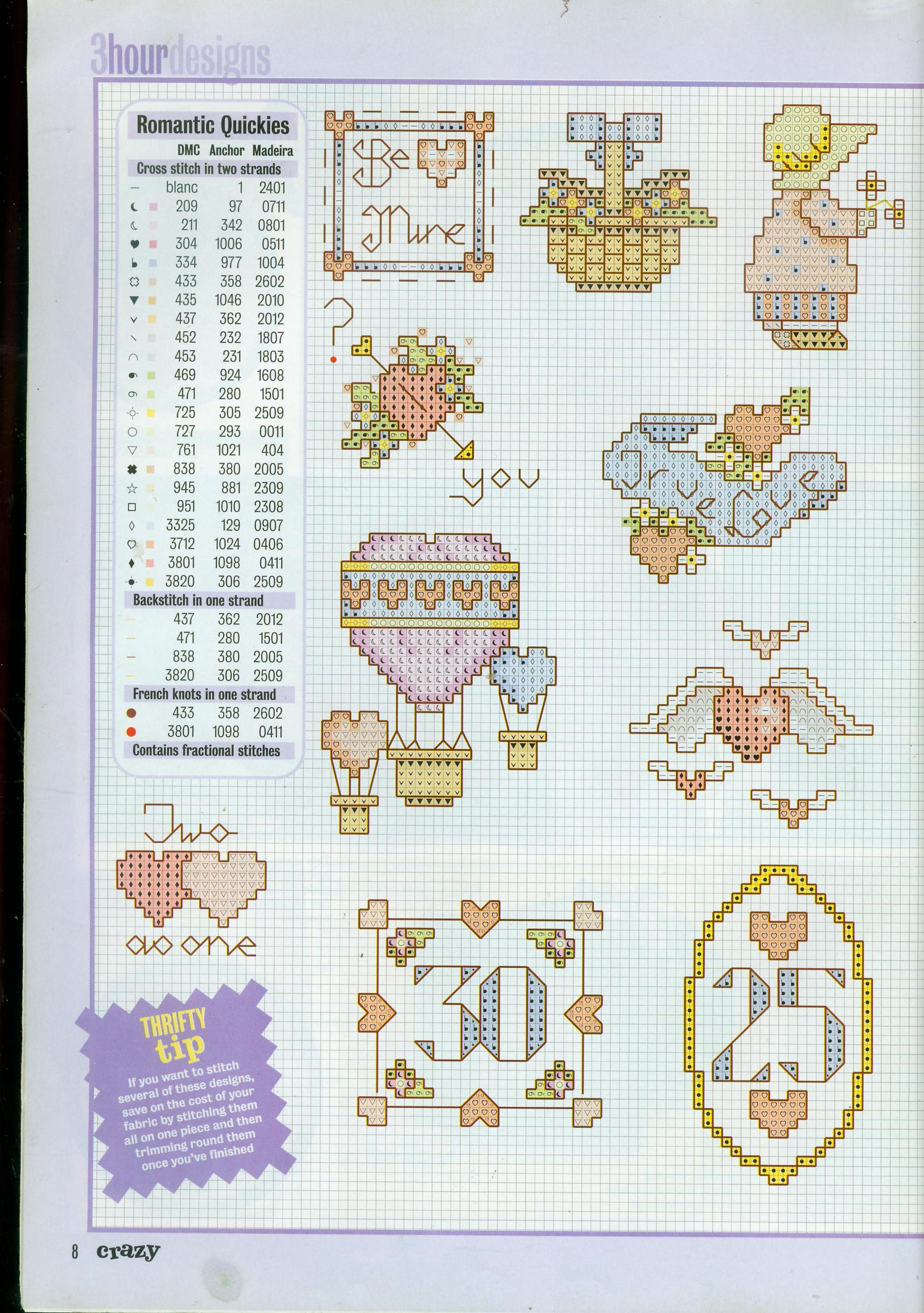Piccoli schemi punto croce dedicati all 39 amore cuori for Orsetti a punto croce schemi