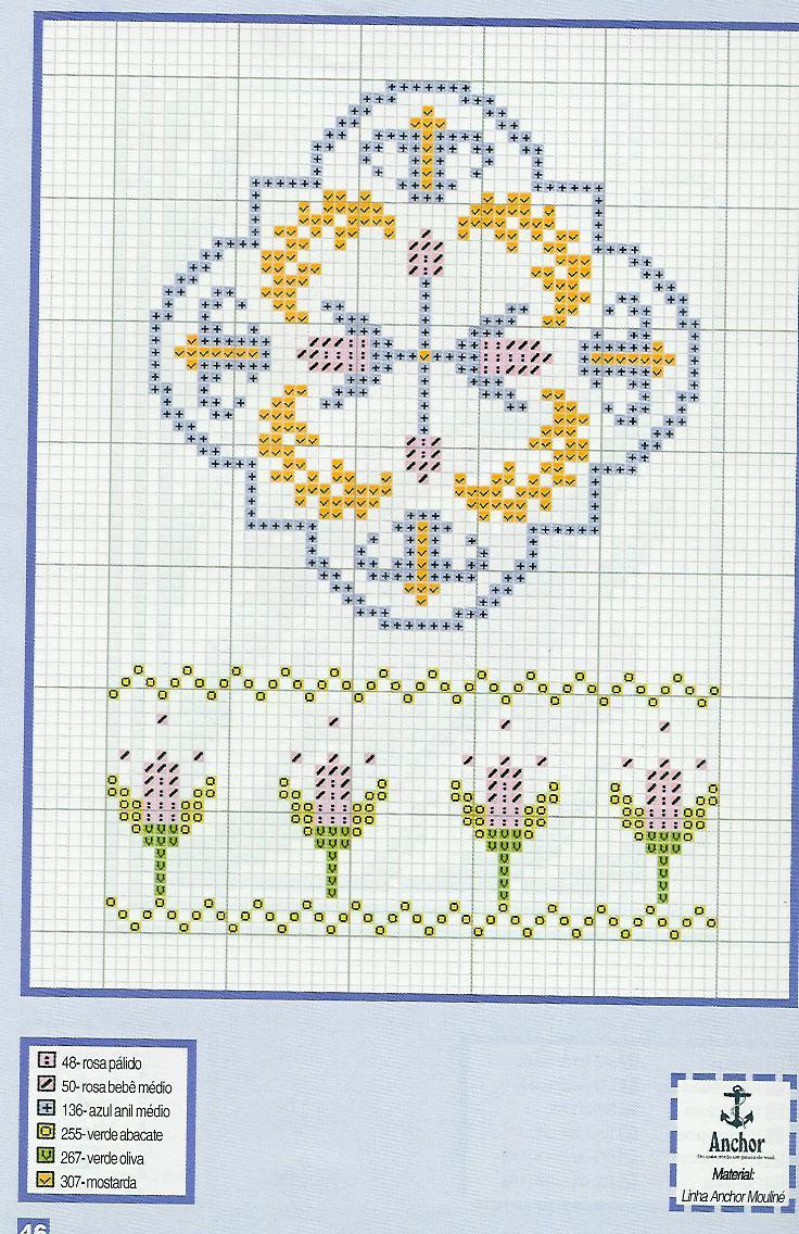 Schemi punto croce piccoli floreali gratis magiedifilo for Schemi gratis a punto croce