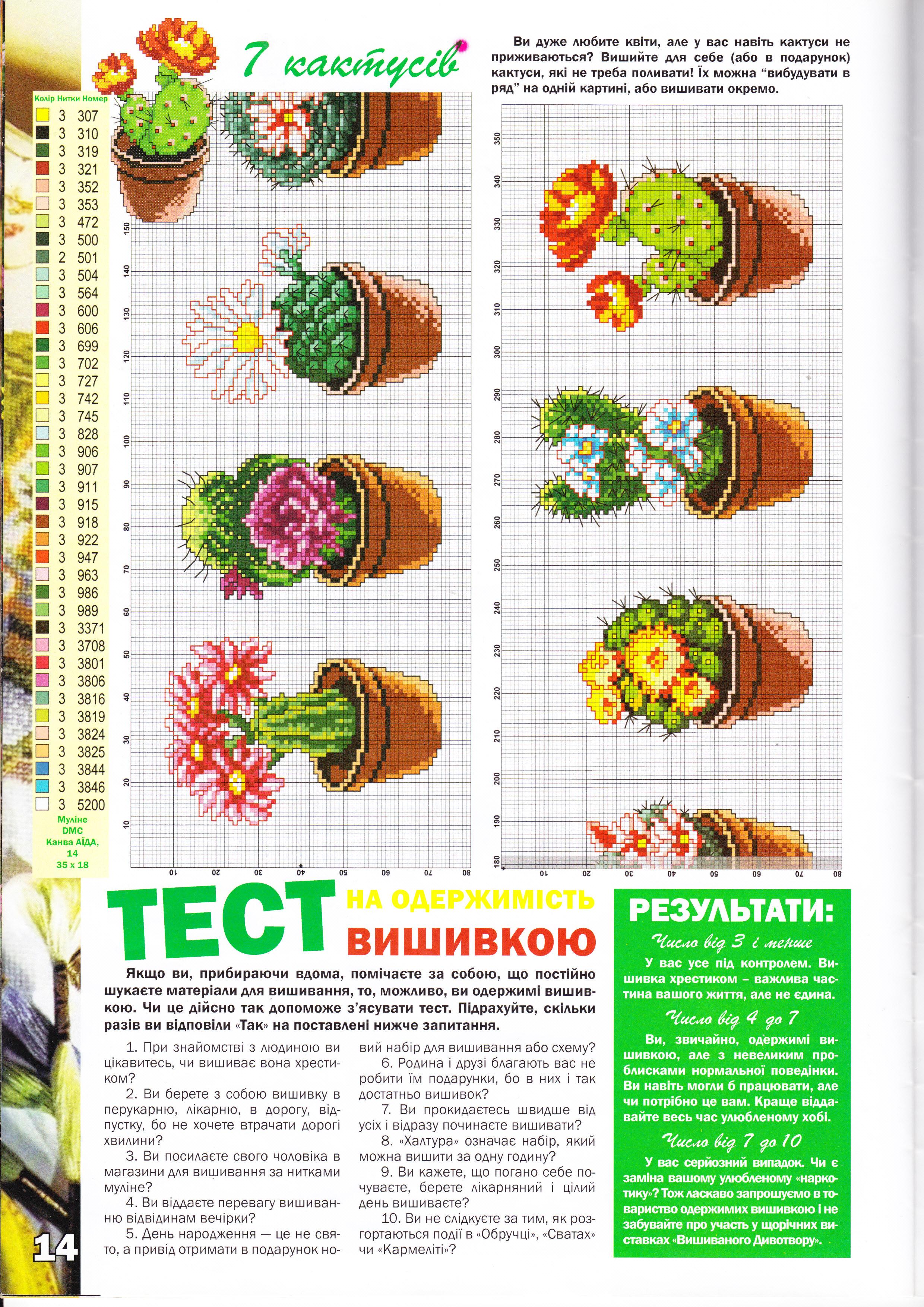 Vasetti piante grasse schema punto croce gratis for Schemi gratis a punto croce