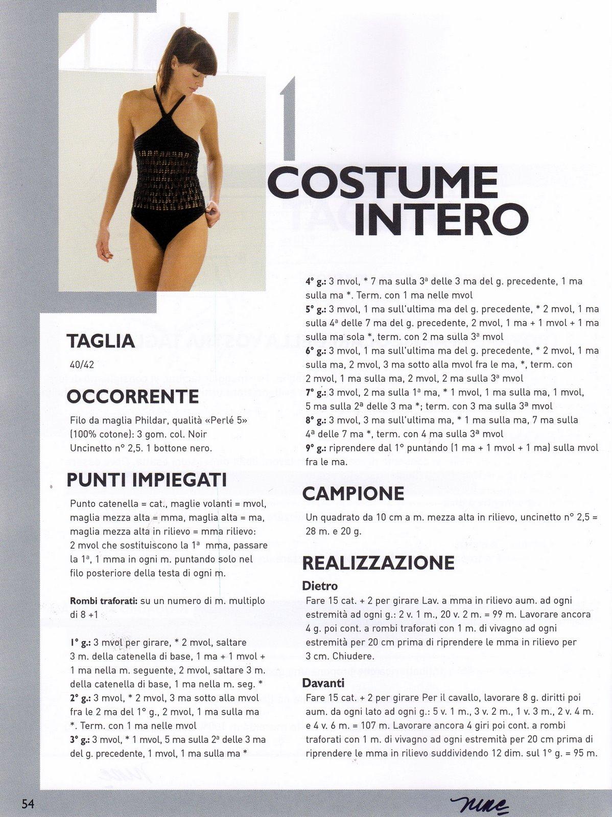 Costume Interouncinetto Nero 3 Magiedifiloit Punto Croce