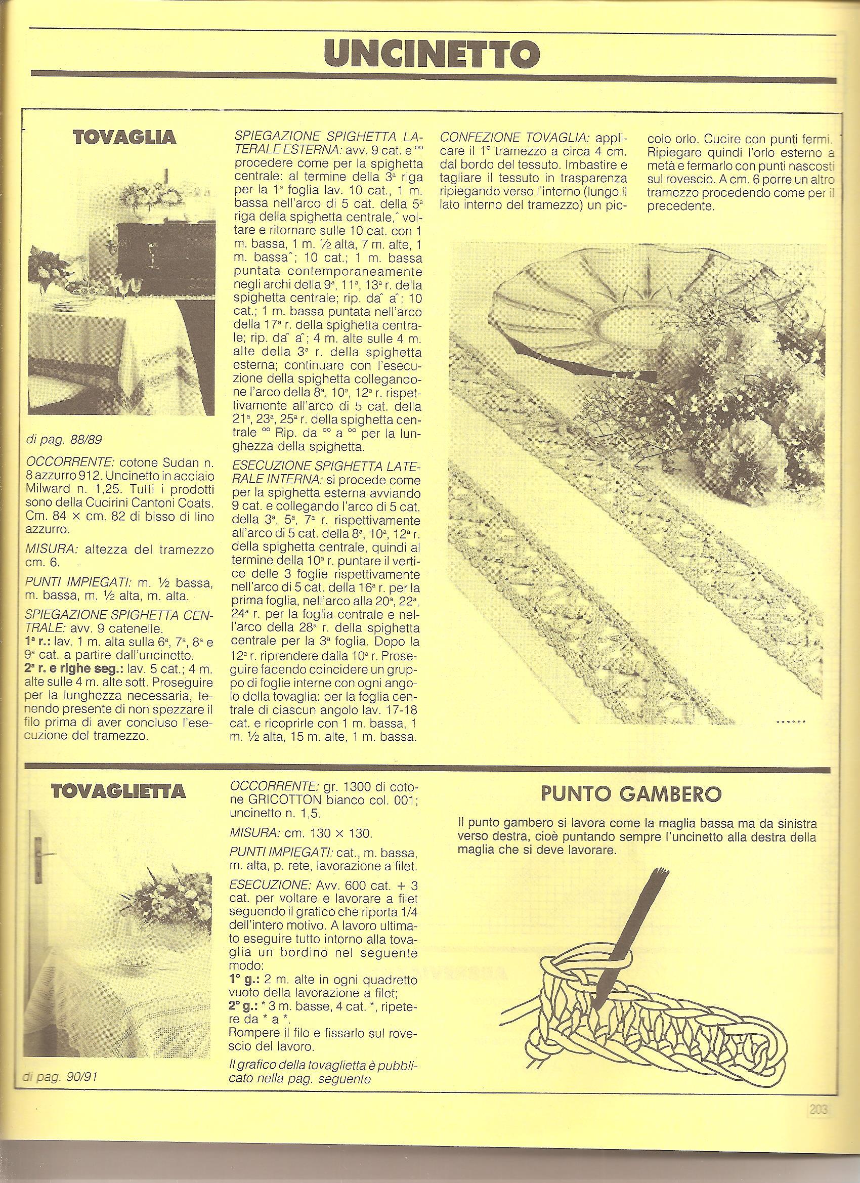 Tovaglia filet semplice geometrica 3 for Schemi tovaglie uncinetto filet