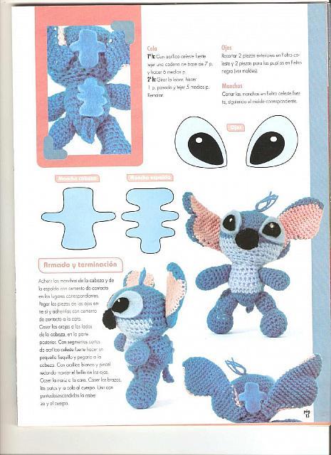 Small Amigurumi Heart Pattern : lilo e stitch ad amigurumi (5) - magiedifilo.it punto ...