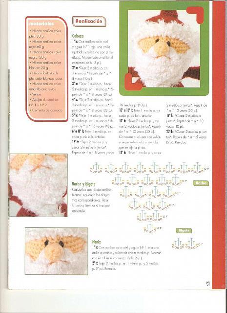 Amigurumi Tutorial Natale : pupazzo di babbo natale ad amigurumi (2) - magiedifilo.it ...
