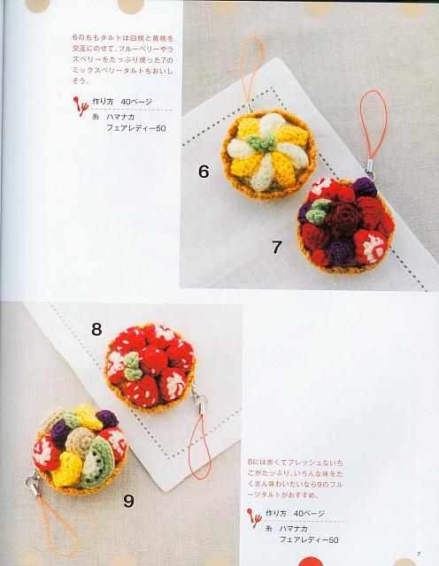 Frutta Uncinetto Schemi Amigurumi : dolci frutta abbellimenti amigurumi 1 - magiedifilo.it ...