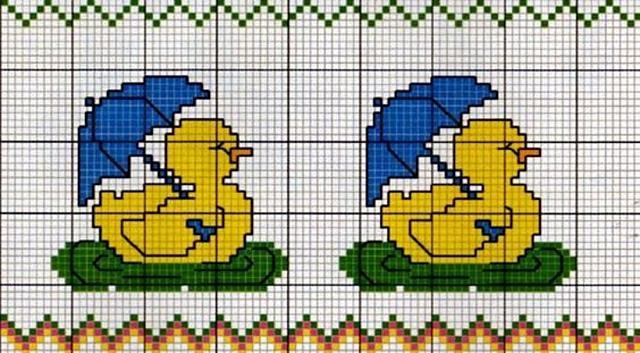 Schemi punto croce piccoli per bavaglini 9559 for Schemi punto croce per bavaglini
