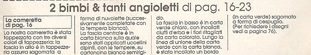 Angioletti completo per cameretta9 punto for Angioletti punto croce per bambini