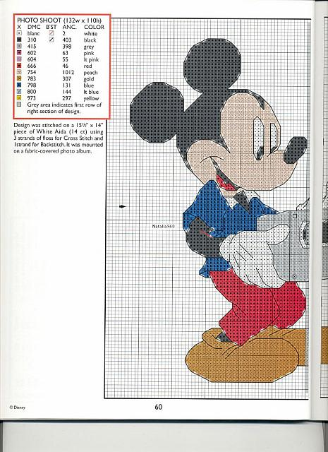 Ricami bellissimi disney 9 punto croce for Ricami disney punto croce