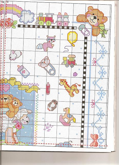Quadretto bambini misto3 punto croce for Schemi punto croce bambini gratis