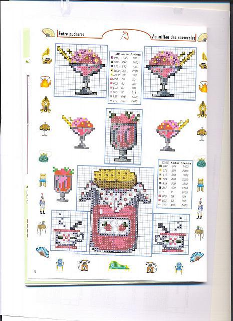 Piccoli accessori barattoli punto croce 1 magiedifilo for Registro casa schemi