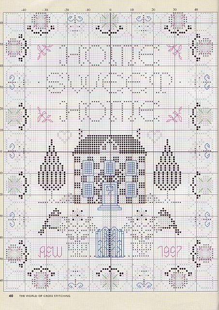 Sampler casa dolce casa 1997 3 punto for Registro casa schemi