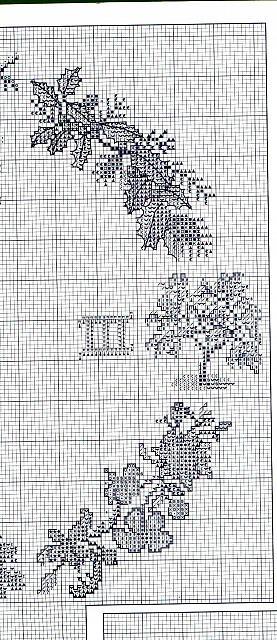 Orologio 4 stagioni 4 punto croce for Orologio punto croce schemi gratis